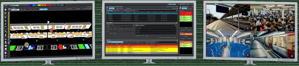 ASL - iVENCS Three Monitors