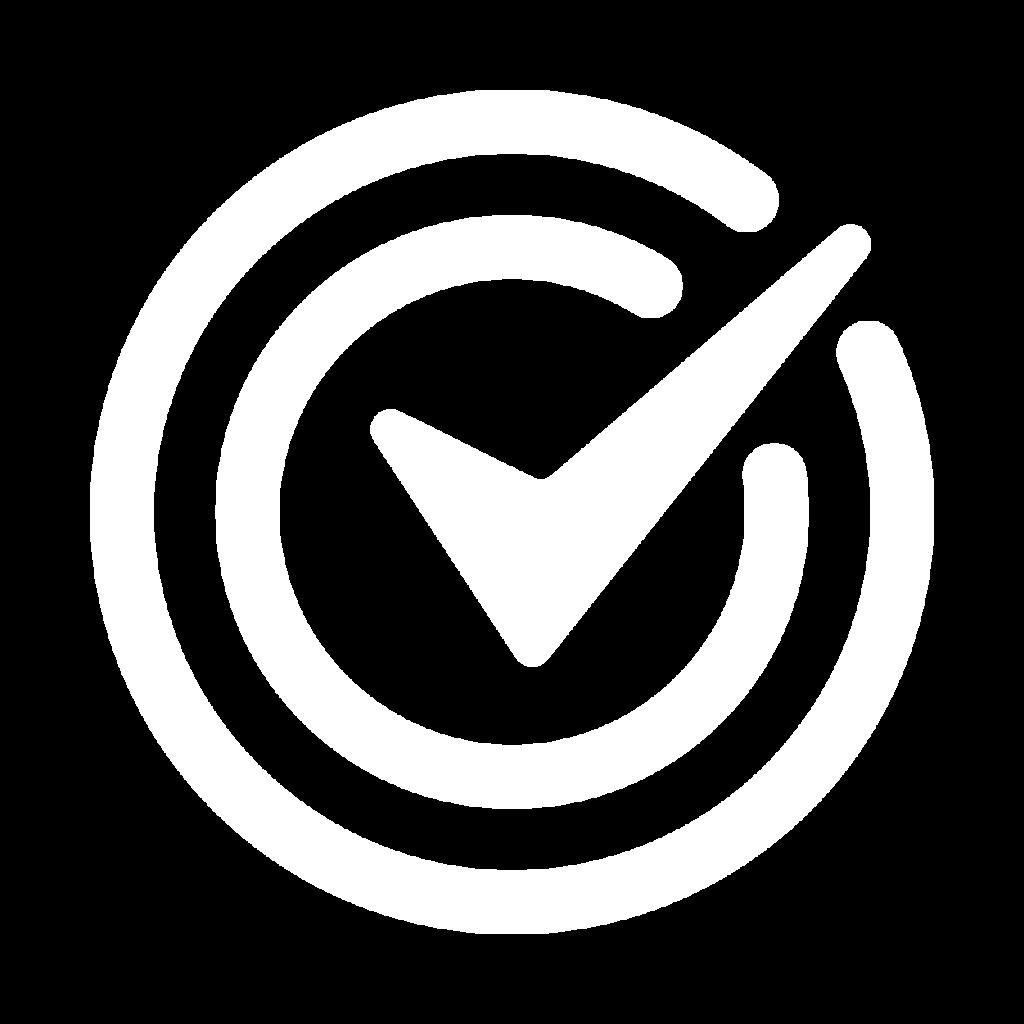 White icons tick - ASL Image